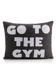Alexandra Ferguson - Go To The Gym 14x18 Pillow | VAULT
