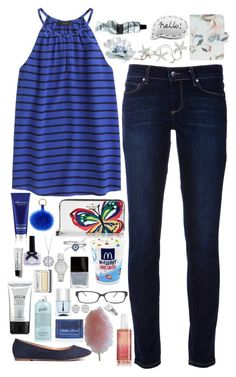 """""""Jessica - $2,731.00"""" by shazellove ❤ liked on Polyvore featuring Paige Denim, J.Crew, Kate Spade, Elemis, H&M, Bling Jewelry, BERRICLE, Butter London, Clinique and Ciaté"""