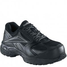 f3101cbcfd5dbc RB4897 Reebok Men s Classic Trainer Safety Shoes - Black www.bootbay.com