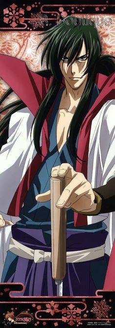 Rurouni Kenshin HIKO SEIJURO long poster portrait Ruroni Samurai X