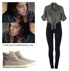 Cora Hale - tw / teen wolf by shadyannon on Polyvore featuring Chicnova Fashion, H&M and STELLA McCARTNEY