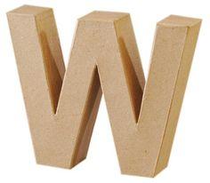 Deze grote letters van karton kun je zelf beschilderen, beplakken of zo neerzetten. Bestel het aantal letters dat je wilt en geef bij het afrekenen aan welke letters je wilt.