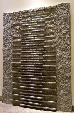 Jesus Bautista Moroles Granite Weaving 1988 Painting/Print Artwork