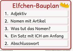 """Endlich Pause?!: Bauplan """"Elfchen"""""""