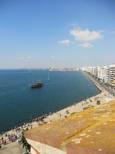 This is my Greece   Thessaloniki's waterfront view from the White Tower