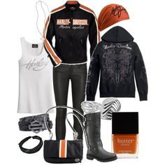 """Harley Chic"" by missyfer88 on Polyvore"