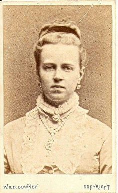 Grand Duchess Marie of Russia, daughter of Alexander II, married Alfred, Duke of Edinburgh