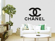 Chanel decal sticker small sizes different by CustomDecalsOnline