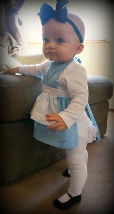 BABY GIRL - Alice In Wonderland Apron by myIRAandLUCYonETSY on Etsy