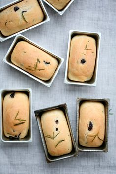 Olive & Rosemary Mini Breads