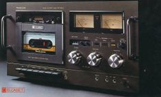 "oninoheizo: "" Vintage HIFI Audio From Around The World - Audio Classic "" Cd Audio, Hifi Audio, Audio Player, Cassette Recorder, Tape Recorder, Cassette Tape, Hi Fi System, Audio System, Technics Hifi"