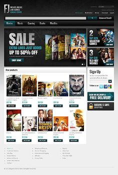 FJ Music Magento Themes by Hermes