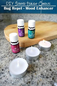 DIY Scented Tealight