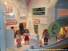 American girl doll village - Google Search