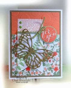 Butterfly Basics, Me, my Stamps and I, Stampin' Up