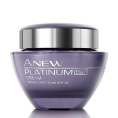Resculpt your features with Anew Platinum Day Cream. #curlsandflipflops #betheboss www.youravon.com/jenallen16