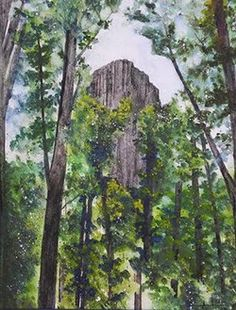 On The Edge Gallery, Scottsdale:Devil's Tower