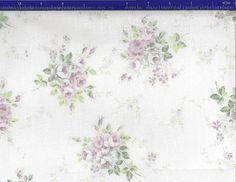 Yuwa Lavender Roses on a cream background by agardenofroses