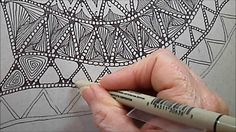 Drifts Tangle Pattern Lesson #146