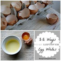 great ideas for using leftover egg whites