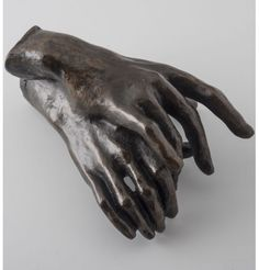 Two Hands by Auguste Rodin. Official sculpture reproduction from Museum Rodin. For Rodin hands have both an expressive and a symbolic value. Auguste Rodin, Musée Rodin, Camille Claudel, Hand Sculpture, Modern Sculpture, Sculpture Rodin, Metal Sculptures, Ceramic Sculptures, Abstract Sculpture
