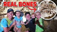 WE FOUND REAL BONES IN A CAVE!! Griffiths Family Reunion Gets Spooky - YouTube The Reunion, Baby Videos, Cave, Bones, Youtube, Caves, Youtubers, Youtube Movies, Dice