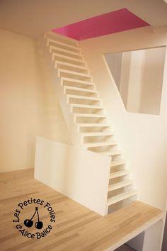 Maison de poupée Barbie | DIY | Doll house | 1/16 ème | escalier