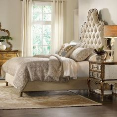 Hooker Furniture Sanctuary Bed Size: California King