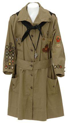 1920s Girl Scout uniform