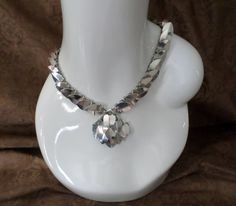 Solid Sterling Silver Scaled Headband/Necklace $165 on Etsy https://www.etsy.com/listing/159789337/solid-sterling-silver-scaled?ref=shop_home_active