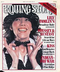 RS236: Lily Tomlin Photo - 1977 Rolling Stone Covers | Rolling Stone