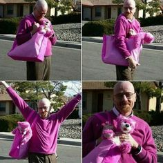 Walter White too funny