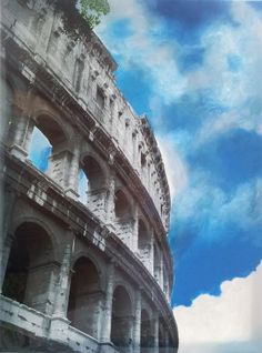 Rome, the eternal city, the next capital included in my Capitals series paintings (photo painting). It was hard to choose what image to use, as Rome has so Louvre, Tower, Sky, Painting, Heaven, Computer Case, Heavens, Painting Art, Towers