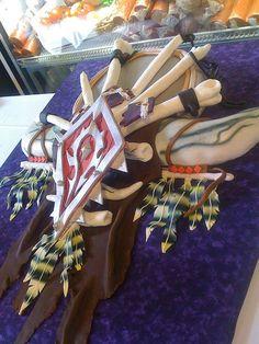 World of Warcraft groom's cake