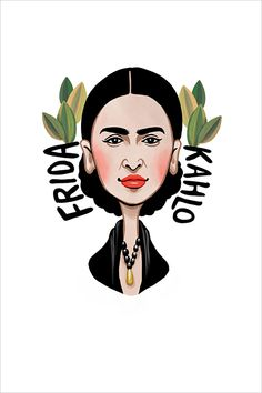 Frida Kahlo, 2018 Artist Gallery, Pigment Ink, Art Fair, Limited Edition Prints, Watercolor Paper, Pure Products, Fine Art, Wall Art, Studio