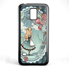 Alice In Wonderland Art TATUM-508 Samsung Phonecase Cover Samsung Galaxy S3 Mini Galaxy S4 Mini Galaxy S5 Mini