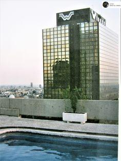 Madrid. Edificio Windsor. Octubre 1995.
