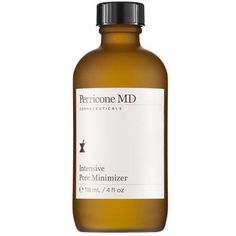 Intensive Pore Minimizer, £49.50   Perricone MD This clever solution addresses the symptoms of enlarged pores rather than temporarily filling them. It gently exfoliates to prevent build-up and tightens the skin over time for a less oily finish.