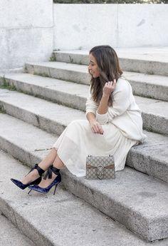 Tulle Skirt With Velvet Heels