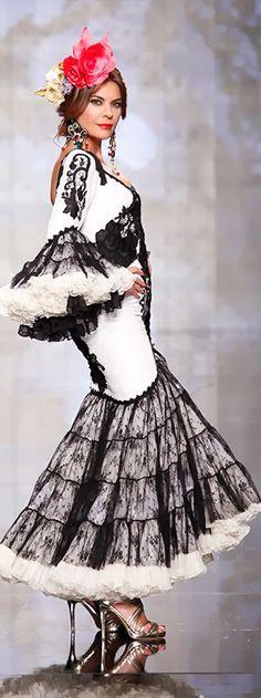 Alicia Cáceres, Simof 2014. Flamenco fashion