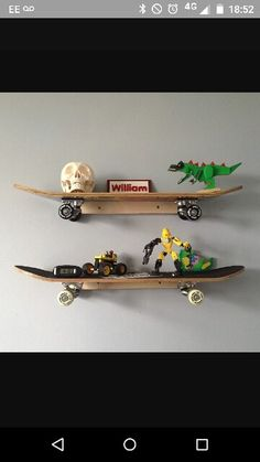 Cool Using Skate Trucks For Hooks In A Boys Skateboard Themed Room | Cool  Boy Rooms | Pinterest | Trucks, Haken Und Suche