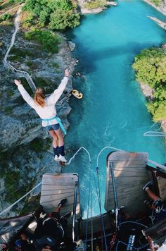 Adventure Awaits, Adventure Travel, Bungee Jumping, Romantic Dates, Summer Bucket Lists, Beautiful Places To Travel, Travel Aesthetic, Travel Goals, Dream Vacations