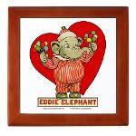 LOVE Eddie Elephant Johnny Gruele Vintage