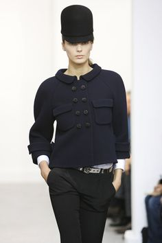 Balenciaga at Paris Fashion Week Fall 2006