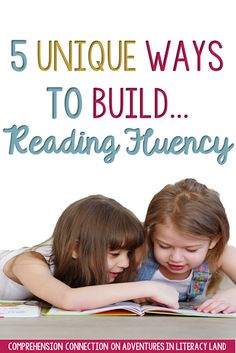 "Students' reading fluency develops just like bike riding skills. Our little ones start off reading word by word with occasional ""falls"", but with lots of practice, they gain speed and momentum to glide along and make meaning. This post includes lots of help for addressing reading fluency including freebies."