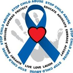 Child Abuse Decal