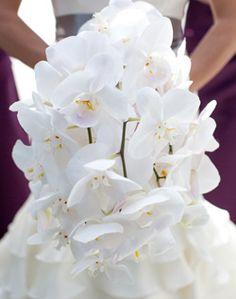 White Ochid Boquet