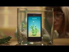 W+K Develops a Series of Underwater Apps for Sony's Waterproof Phone The life aquatic, half an hour at a time... Sony -- Underwater Apps -- Plantimal.