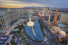 Another billion dollar view, taken from the Cosmopolitan Las Vegas