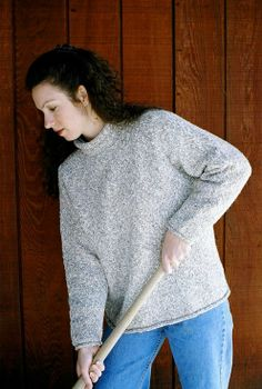 Knitting Pure and Simple--Diane Soucy--Neckdown Pullover for Women
